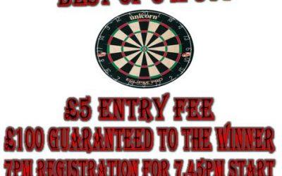 Pot Black Darts Open 2012