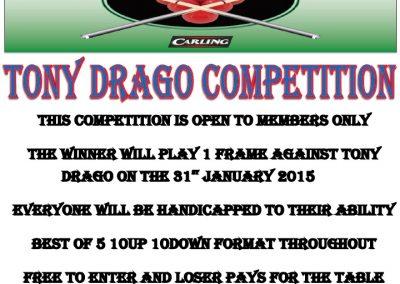 Tony Drago Comp 2015