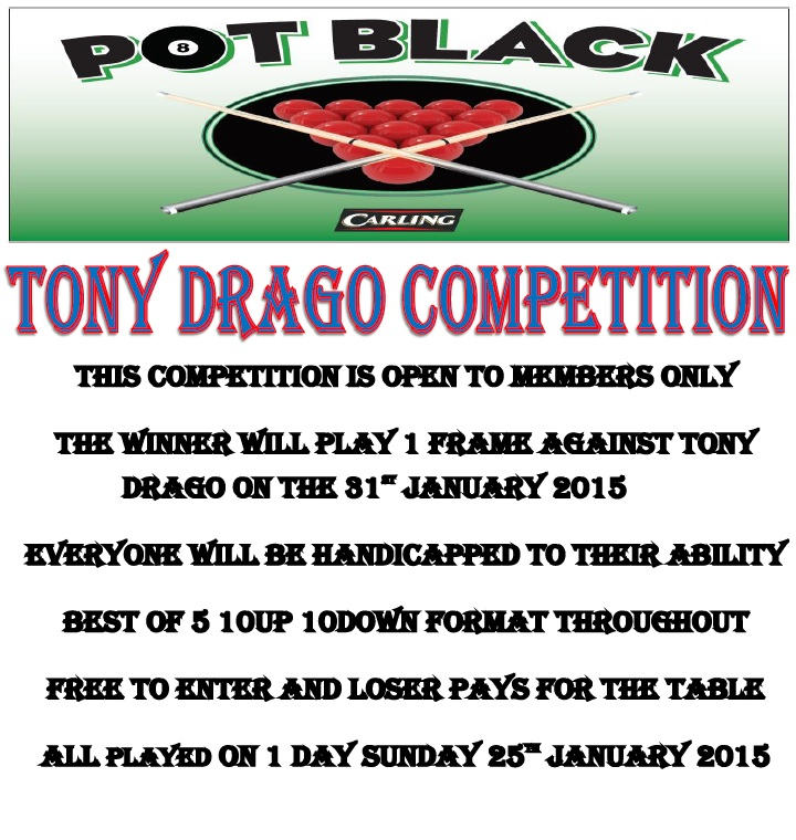 Tony Drago Competition 2015