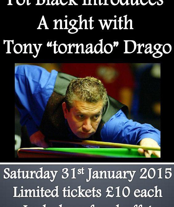 A Night With Tony Drago