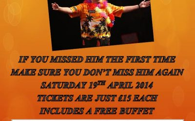 A Night With Wayne Mardle 19th April 2014
