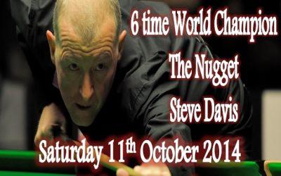 A night with Steve Davis