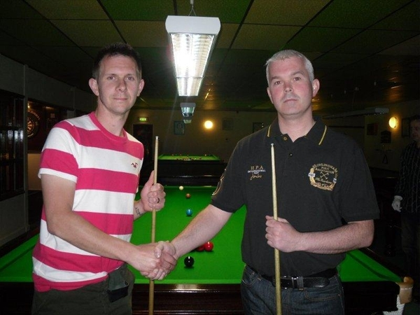 Snooker Final and presentation night 2011-2012