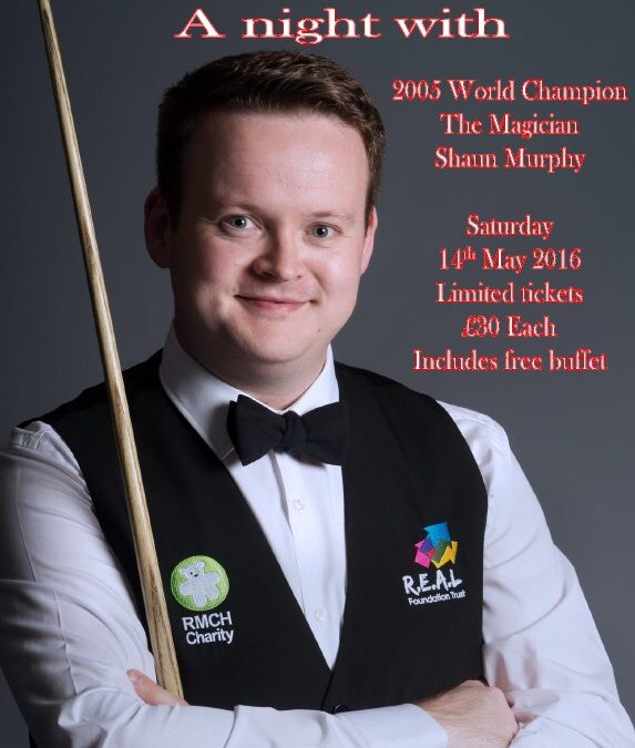 A Night With Shaun Murphy 14th May 2016